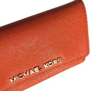 Michael Kors Orange Iphone 5 Phone Case